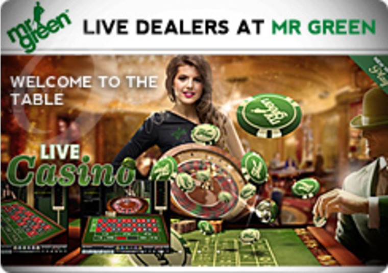 Mr Green Offers Live Dealer Gaming Action