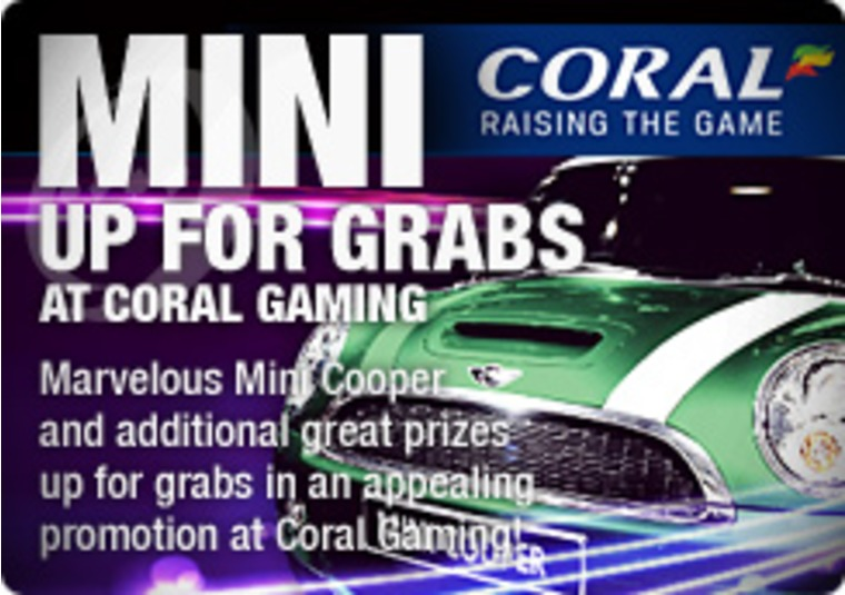 Mini Up for Grabs at Coral Gaming