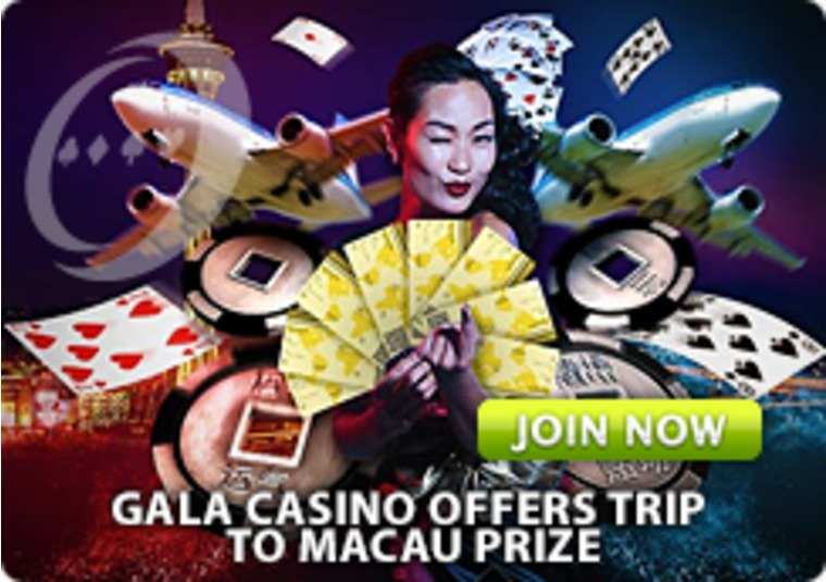 Gala Casino Offers Trip to Macau Prize