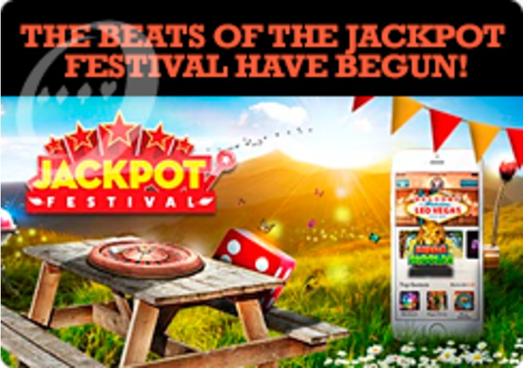 The LeoVegas Jackpot Festival is where all the big money can be won