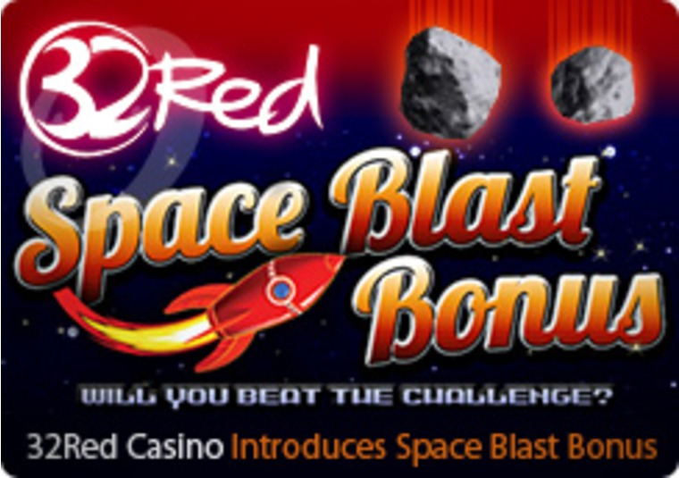 32Red Casino Introduces Space Blast Bonus