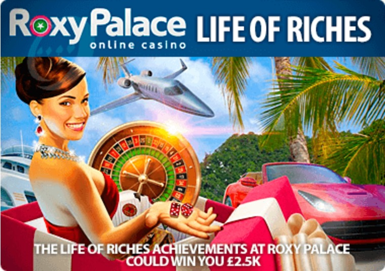 The Life of Riches achievements at Roxy Palace could win you £2.5k