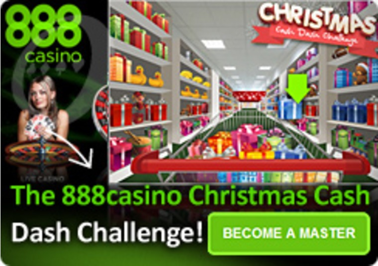 Christmas Cash Dash Challenge at the 888 Casino