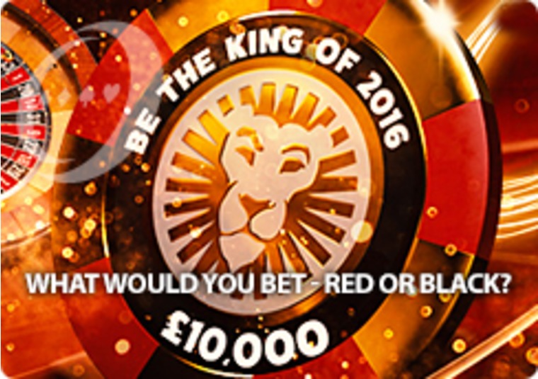 Win £10,000 - and the opportunity to double up - at Leo Vegas