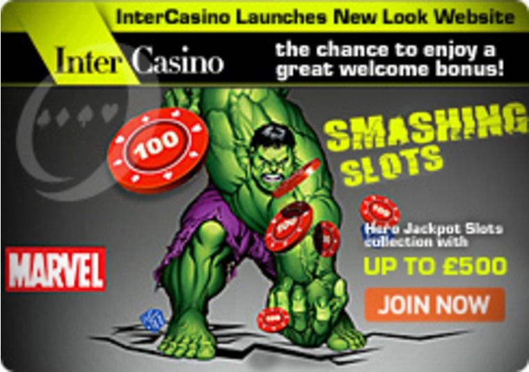 InterCasino Launches New Look Website