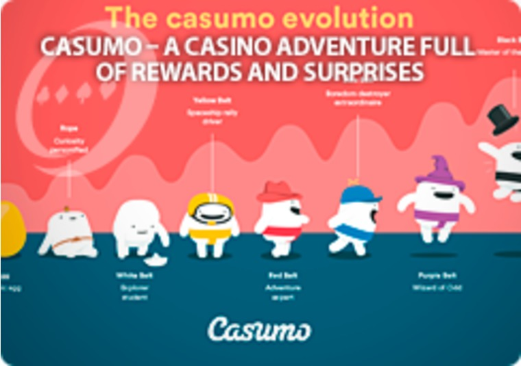Start the Casumo adventure: rewards, bonuses, surprises, and more