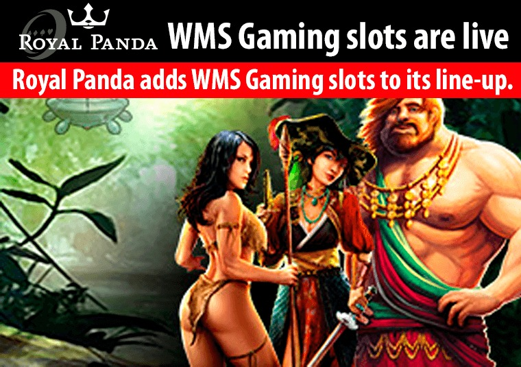 Royal Panda adds WMS Gaming slots to its line-up