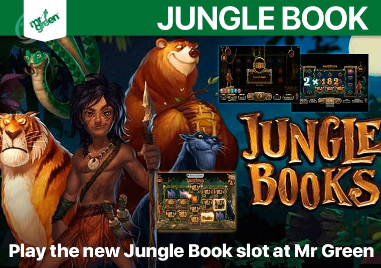 Play the new Jungle Book slot at Mr Green