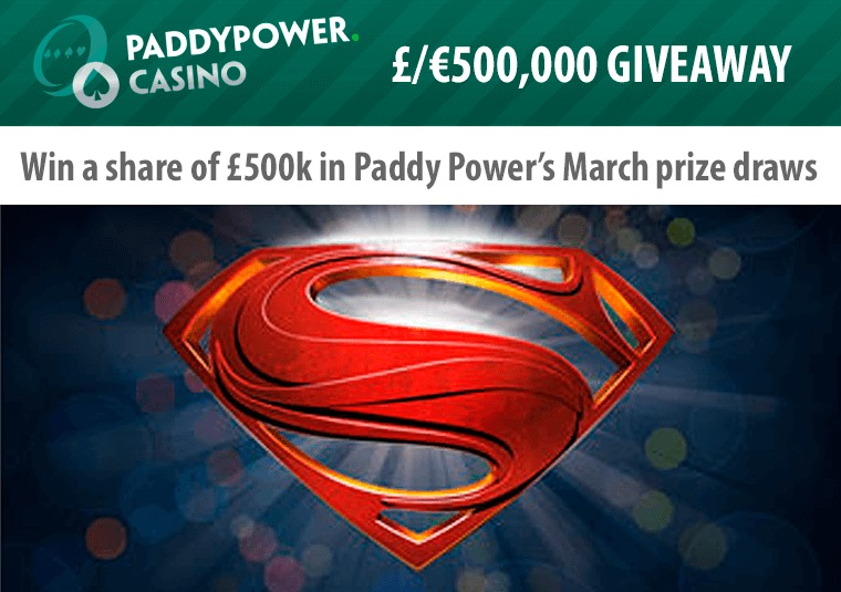 Win a share of £500k in Paddy Power's March prize draws