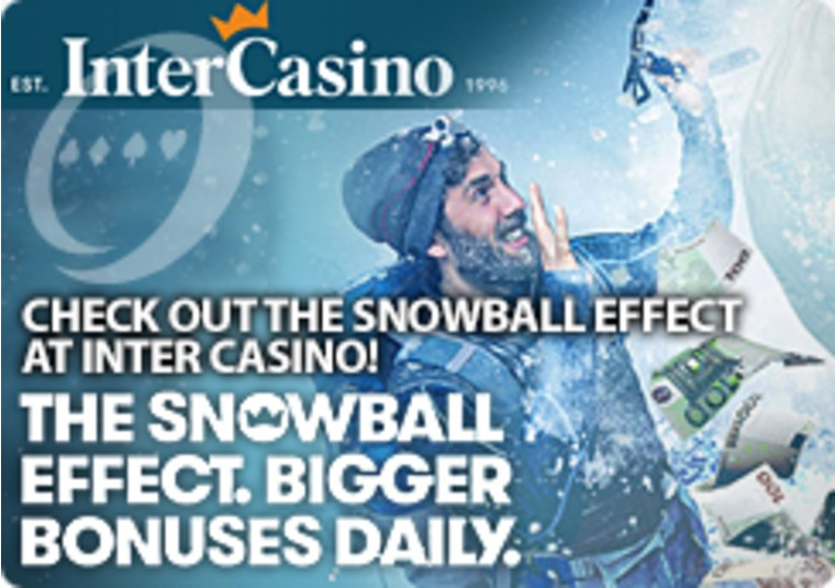 Check out the Snowball Effect at Inter Casino