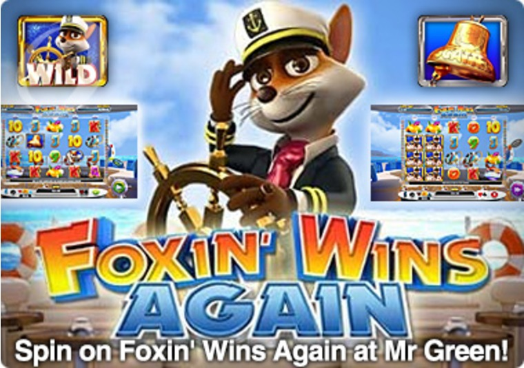 Spin on Foxin' Wins Again at Mr Green