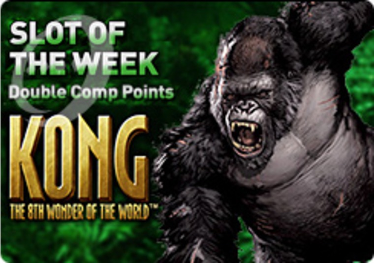 Get Your Double Points This Week at Kong at Jackpot247