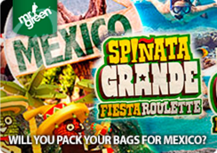 Win a luxury holiday to Mexico at Mr Green