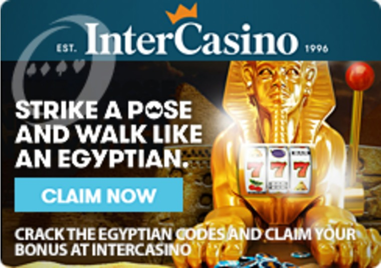 Crack the Egyptian Codes and Claim Your Bonus at InterCasino