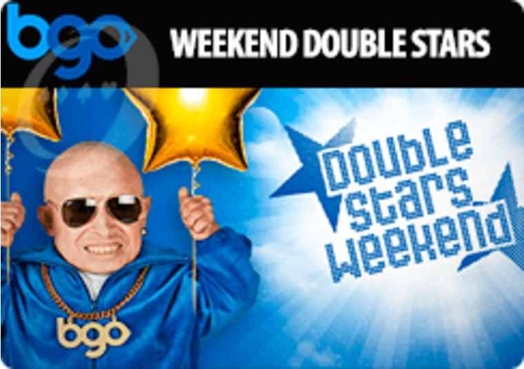 Earn double stars in bgo's loyalty scheme during October