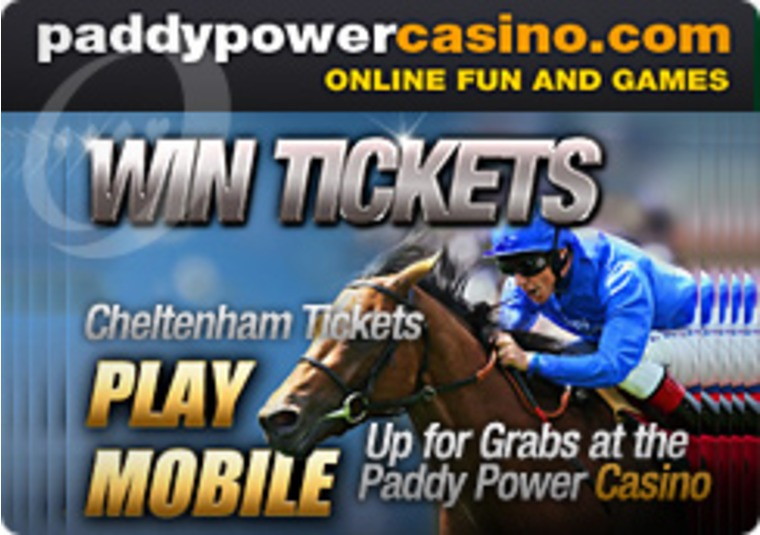 Cheltenham Tickets Up for Grabs at the Paddy Power Casino