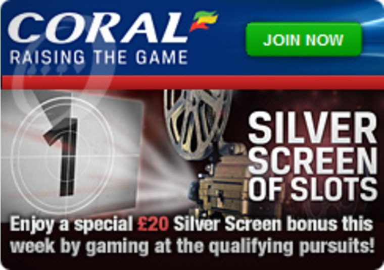 Silver Screen Slots at the Coral Casino