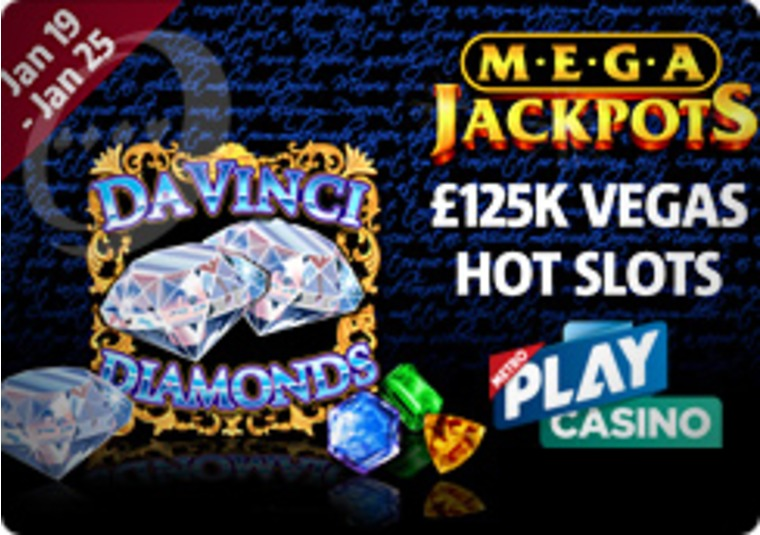 £125K Vegas Hot Slots Promo Running at the Metroplay Casino
