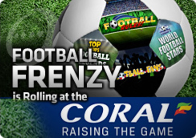 Football Frenzy is Rolling at the Coral Casino