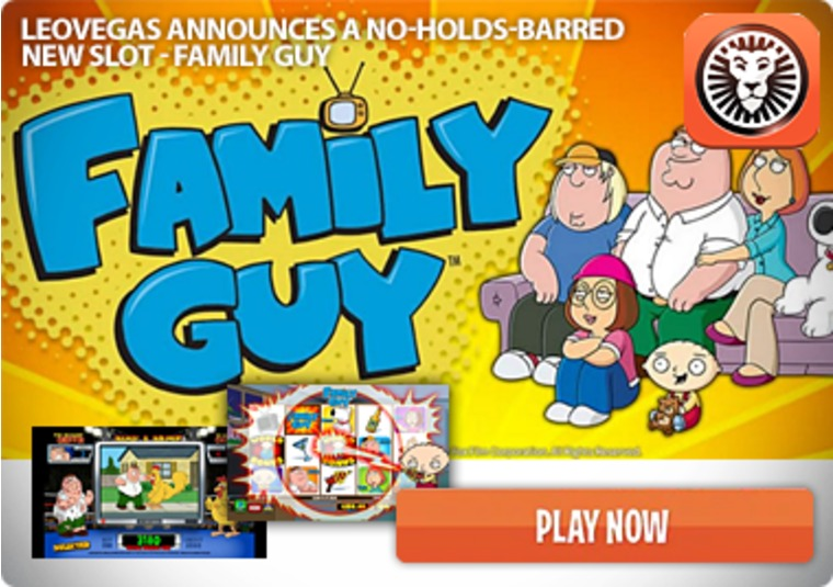 LeoVegas announces a no-holds-barred new slot - Family Guy