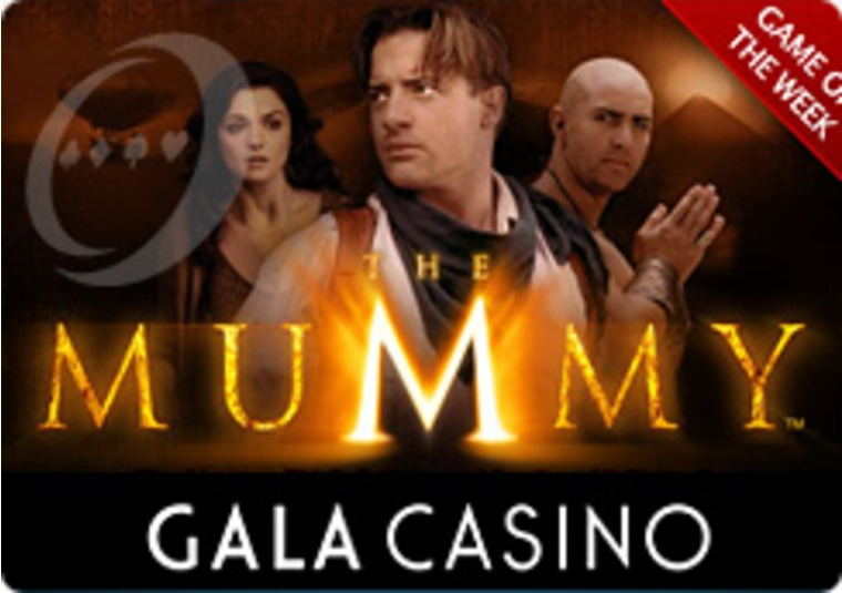 The Mummy is Rolling at the Gala Casino for Double Points