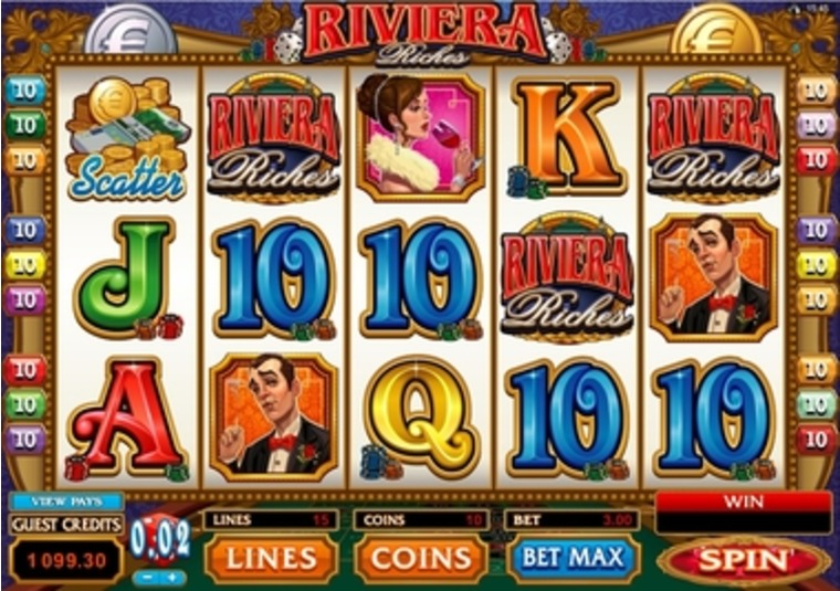 Riviera Riches at 32Red Casino