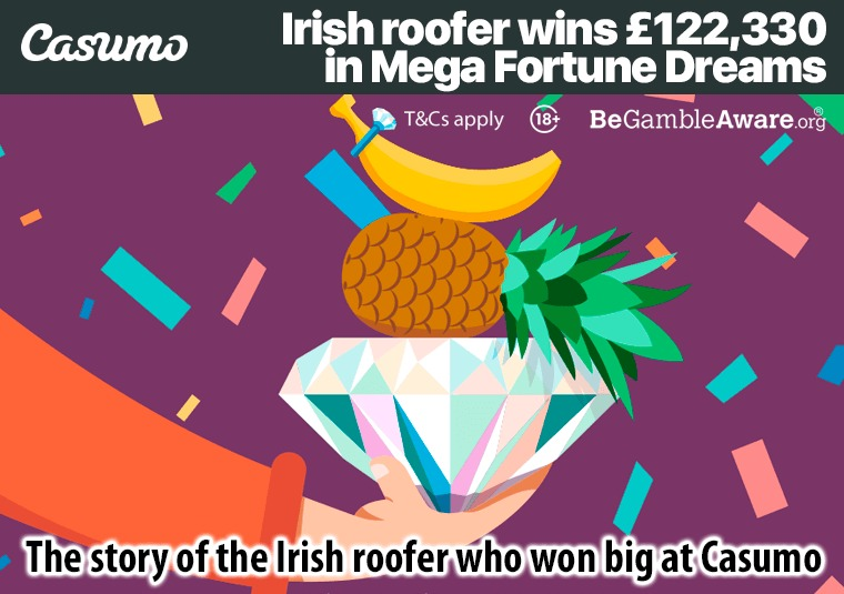 The story of the Irish roofer who won big at Casumo
