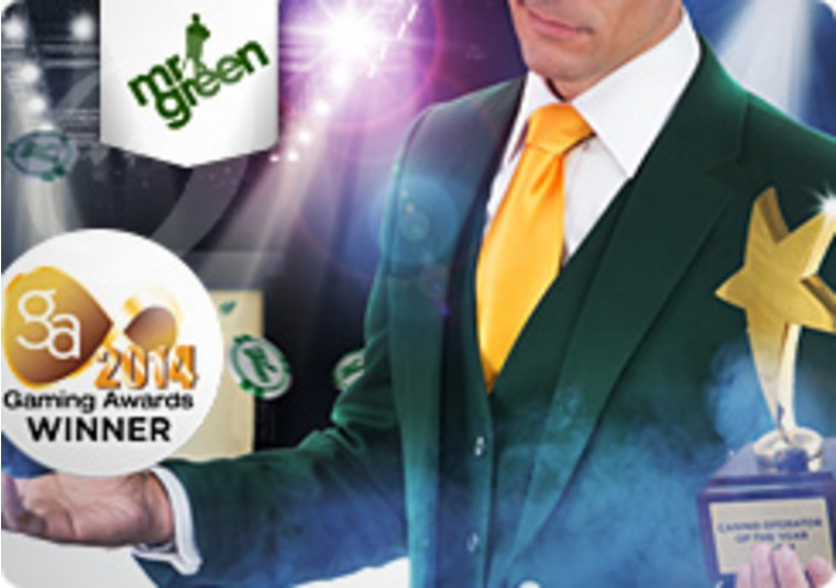 Mr Green Announced as 2014 Casino Operator of the Year
