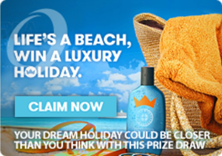 Win a Holiday with the Life's A Beach Promotion at InterCasino