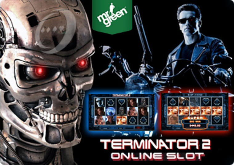 Terminator 2 Available Now at Mr Green