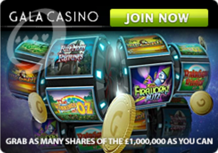 With £1 million in prizes to be won, Gala Casino is the place to be