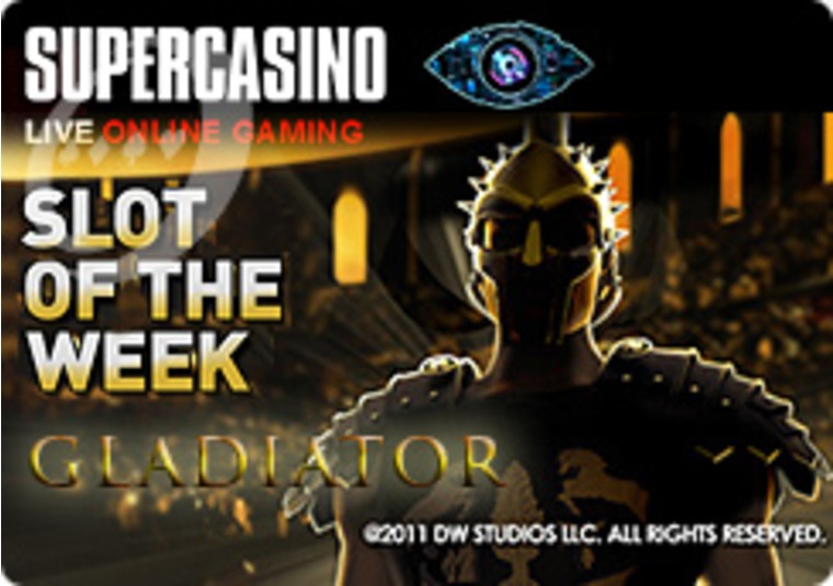 Fight for Double Points on Gladiator at Super Casino