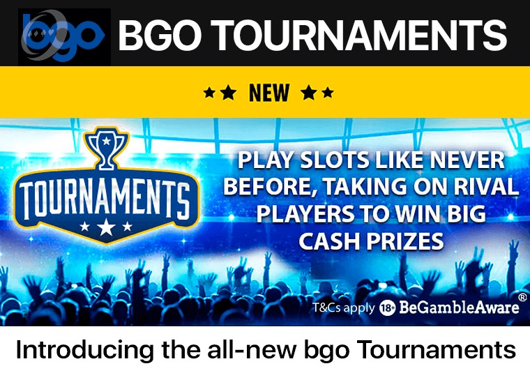 Introducing the all- new bgo Tournaments