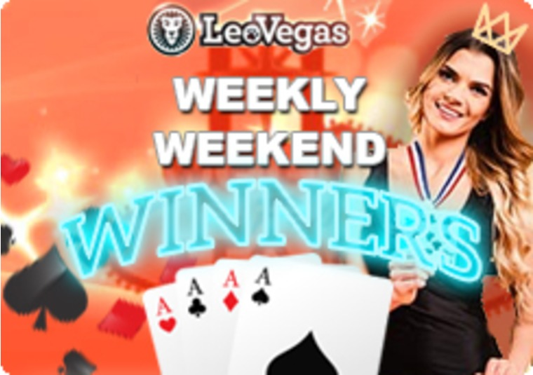 Win cash prizes, free spins, and more at the LeoVegas live Olympics