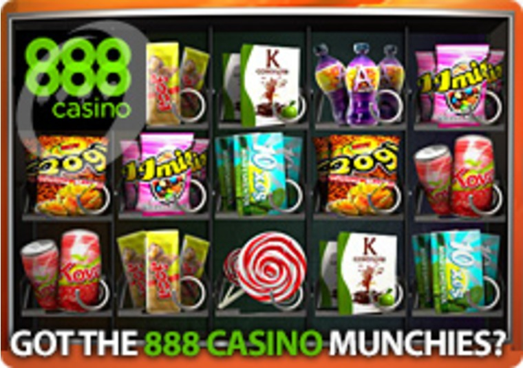 Got the 888 Casino Munchies