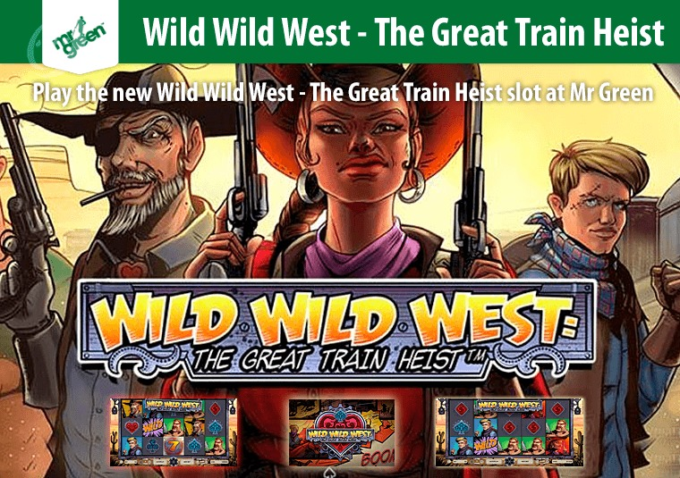 Wild Wild West: The Great Train Heist Slots - Play Online