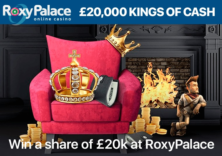 Win a share of £20k at RoxyPalace