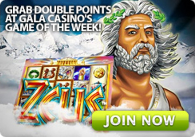 Grab Double Points at Gala Casino's Game of the Week