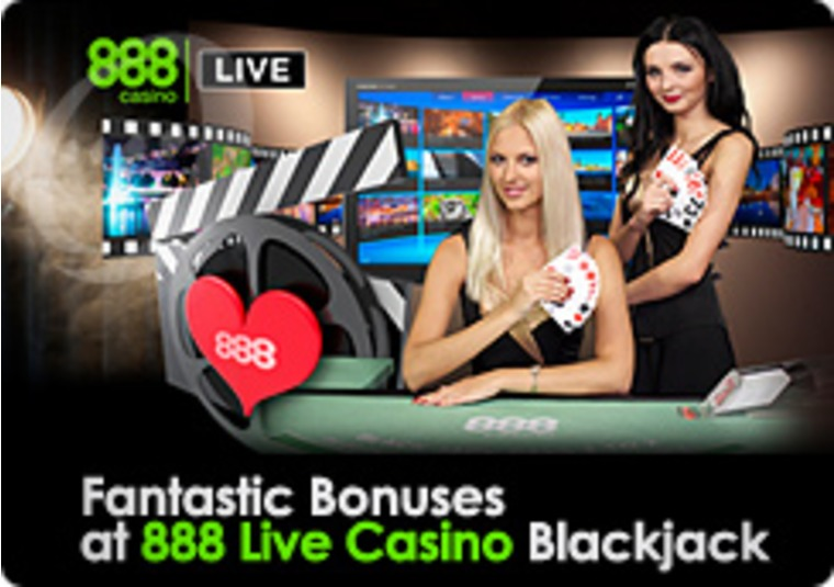 Fantastic Bonuses at 888 Live Casino Blackjack