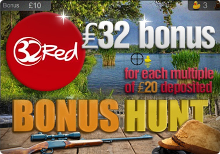 32Red Casino Introduces Bonus Hunt