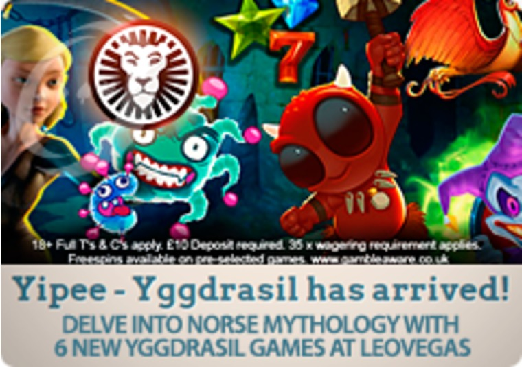 Delve into Norse mythology with 6 new Yggdrasil games at LeoVegas