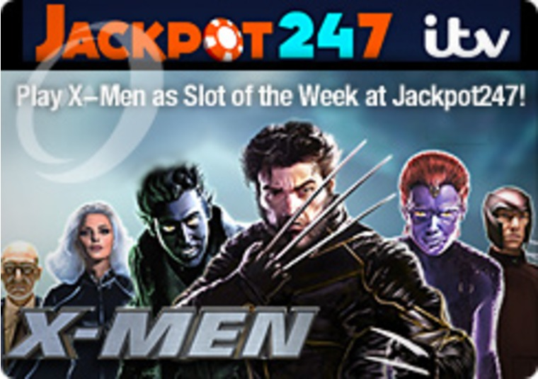 Play X-Men as Slot of the Week at Jackpot247