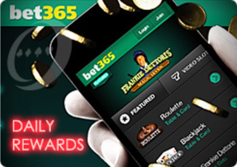 Daily Rewards at the Bet365 Mobile Casino