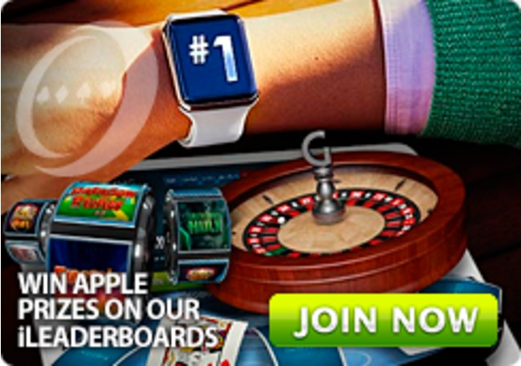 Win Apple products and Gala Casino bonuses by topping the leader board