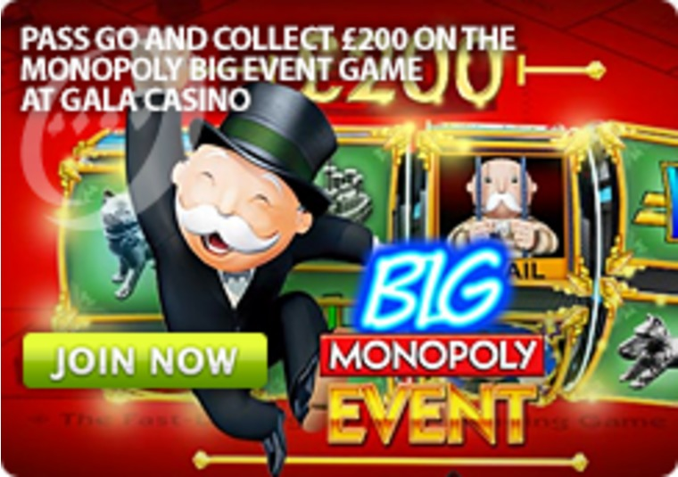 Pass Go and Collect £200 on the Monopoly Big Event Game
