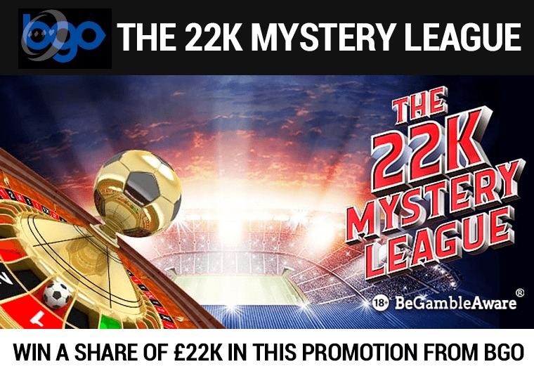 Win a share of £22k in this promotion from bgo
