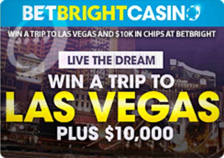 Win a trip to Las Vegas and $10k in chips at BetBright