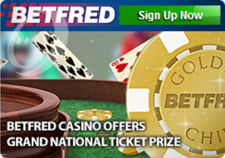 Betfred Casino Offers Grand National Ticket Prize