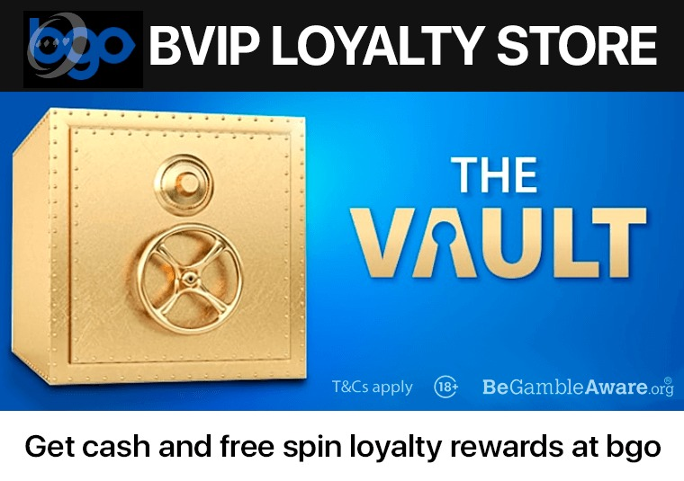Unlock the boosts in your vault at bgo