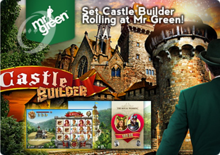 Set Castle Builder Rolling at Mr Green